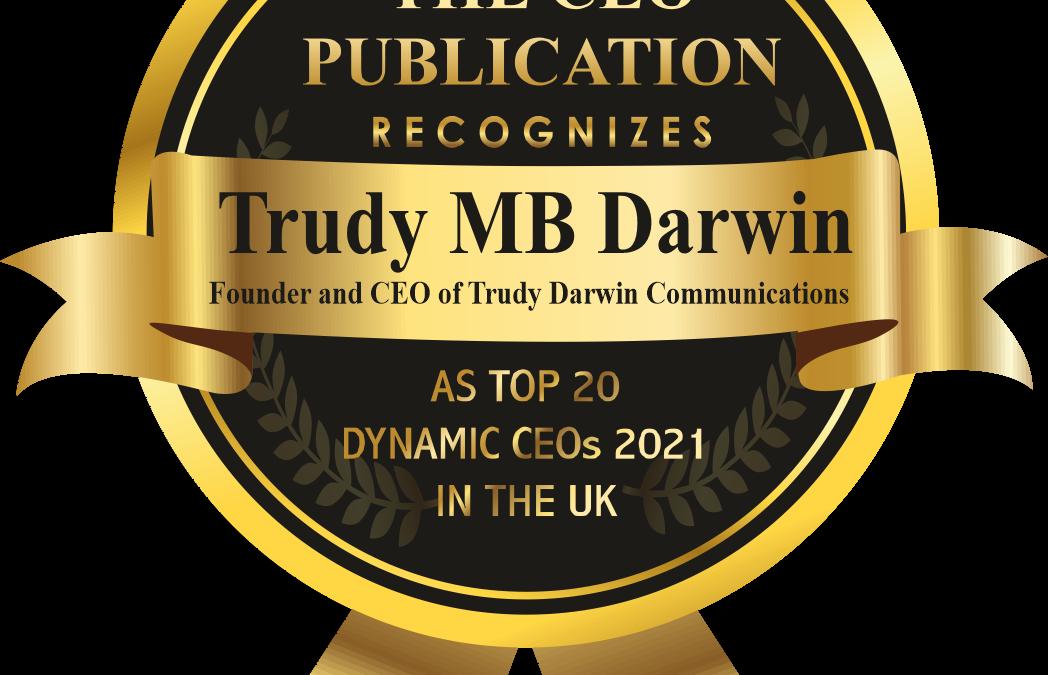 UK TOP 20 Dynamic CEO 2021